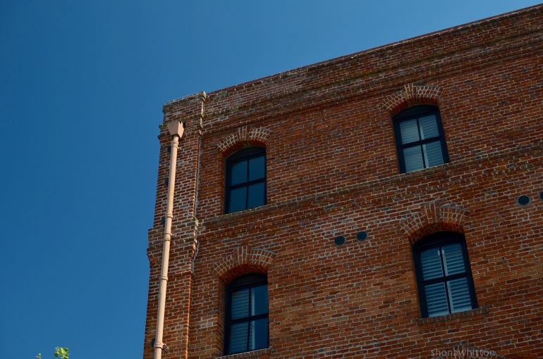 The Cannery, Fisherman's Wharf. Built entirely from reclaimed bricks after the 1906 Earthquake.