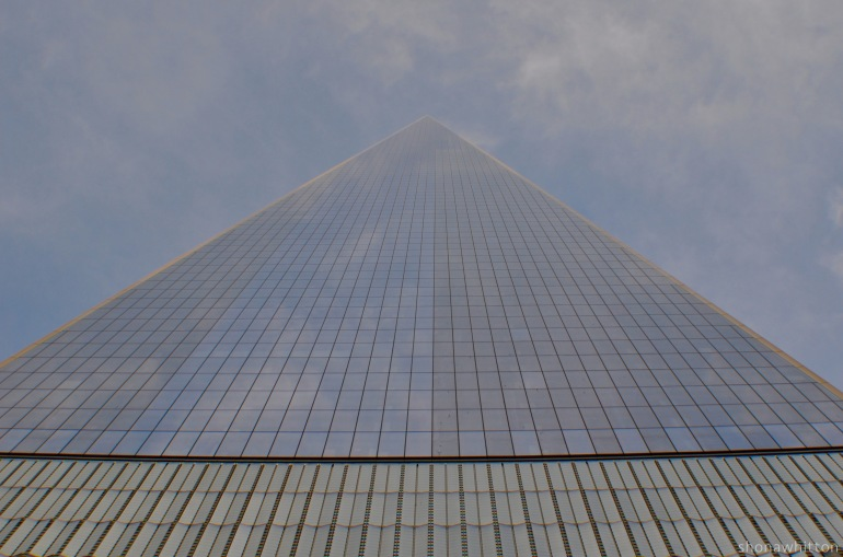 Downtown pyramid. One World Trade Center.