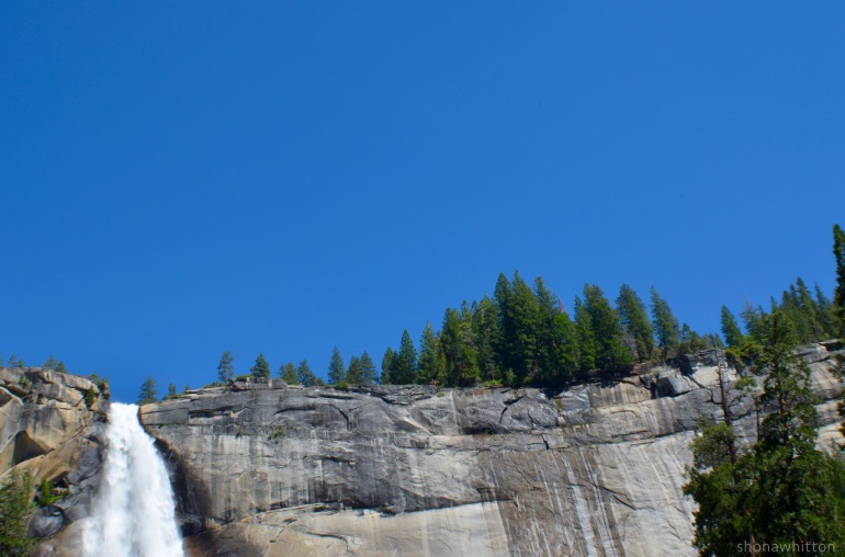 Nevada Falls, Mist Trail, Yosemite National Park.