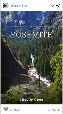 Follow the link to check out my Steller story about Yosemite.