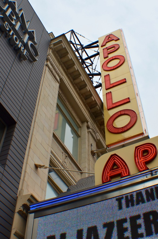 The Apollo theatre.