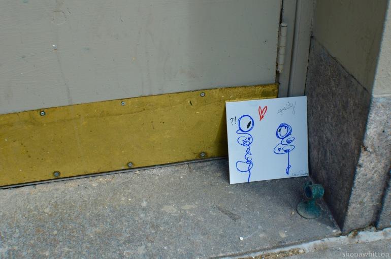 Pride street art, Greenwich Village.
