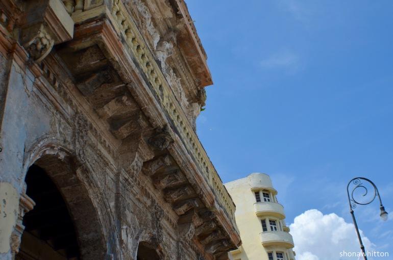Along the Malecon, Havana.