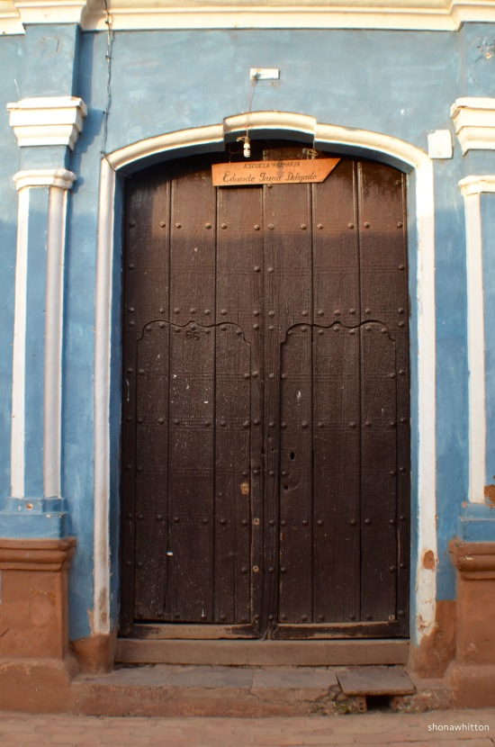 Trinidad doorway.